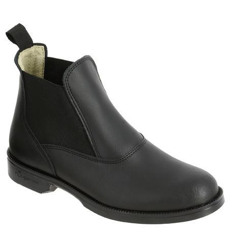 Bottes équitation CLASSIQUE cuir noir - Men/Hommes
