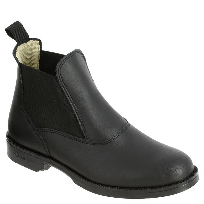 Classic One Adult / Children's Horse Riding Jodhpur Boots - Black - 347062