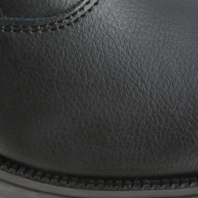حذاء كلاسيكي للكبار/ الصغار لركوب الخيل Jodhpur - أسود
