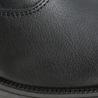 Classic Adult/Kids' Leather Horseback Riding Jodhpur Boots - Black