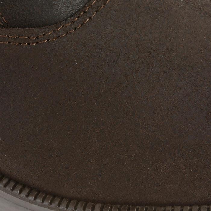 Botines de piel equitación adulto CLASSIC marrón