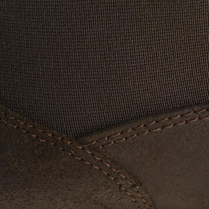 Boots cuir équitation adulte CLASSIC - 347123