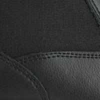 Adult Horse Riding Classic Leather Jodhpur Boots - Black