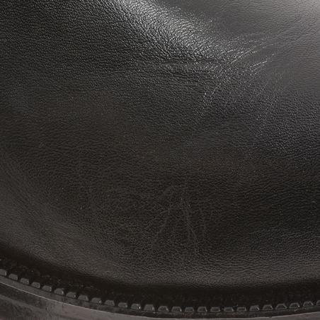Holstein Adult Horse Riding Jodhpur Boots - Black