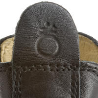 Holšteinų raitelio auliniai batai suaugusiesiems – juodi