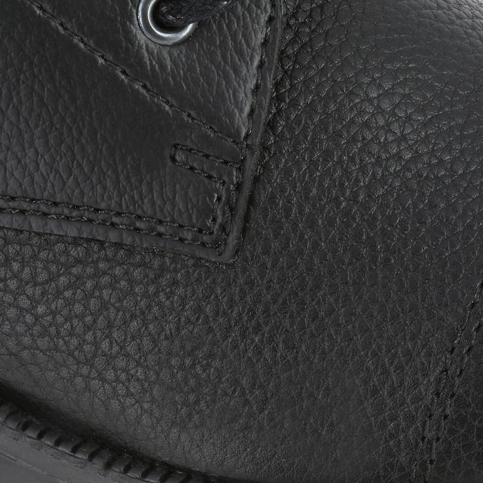 Boots équitation adulte CLASSIC LACETS noir - 347140