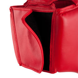 Boxing Competition and Training Open Head Guard - Red