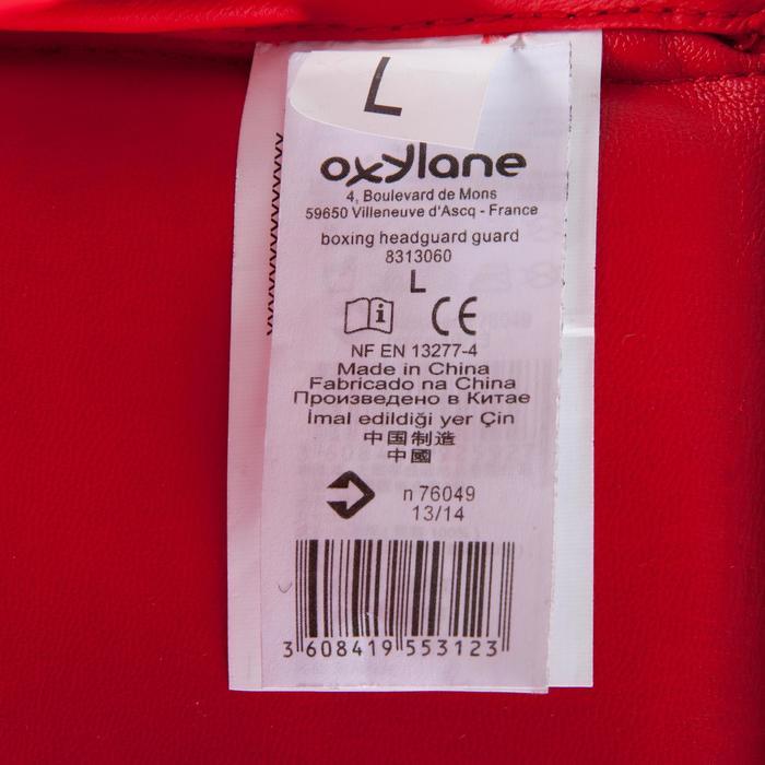 CASQUE DE BOXE OUVERT ENTRAINEMENT ET COMPÉTITION ROUGE - 348439