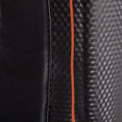 Scheen- en voetbeschermer Pro voor boksen, voor training en competitie zwart - 348459