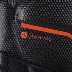 Scheen- en voetbeschermer Pro voor boksen, voor training en competitie zwart - 348460