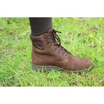 Boots équitation adulte SENTIER TOP marron