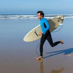 Heren surfpak 100 neopreen 2/2 mm blauw - 34903