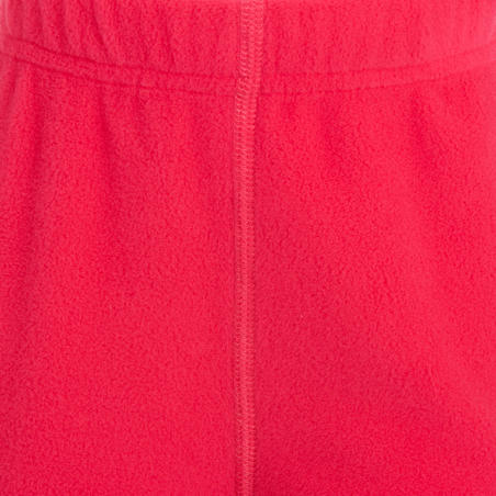 Forclaz 50 Baby Fleece Hiking trousers - Pink