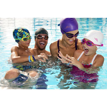XBASE Swimming Goggles Size S - Pink - 349382
