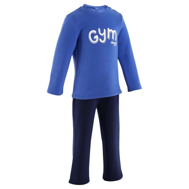 c1220109782f6 Chándal fitness bebé WARM Y azul marino
