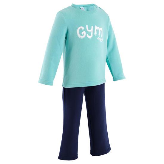 Fitness joggingpak Warm'y voor peuters - 349753