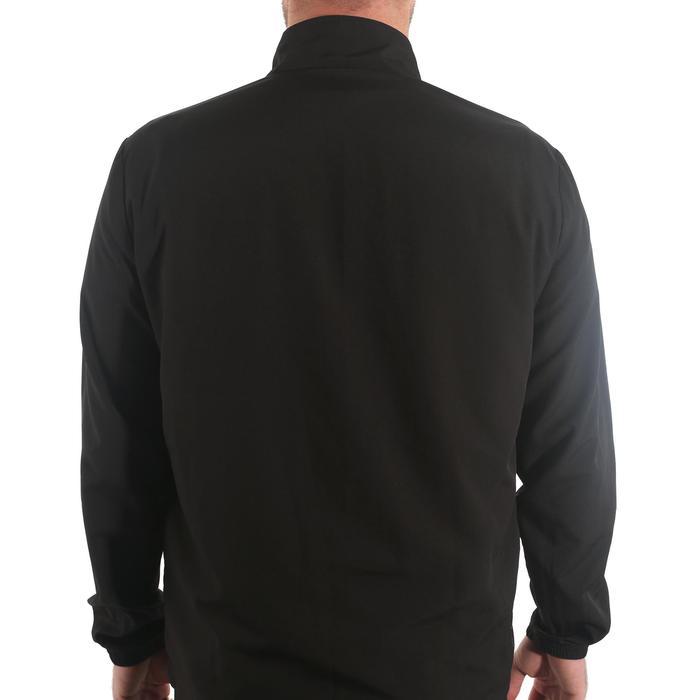 Tennisjacke Dry 100 Herren schwarz
