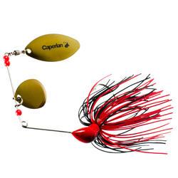 Buckhan 16g red/black lure fishing spinnerbait
