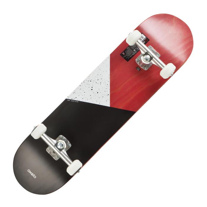 Complete skateboard 100 Galaxy rood