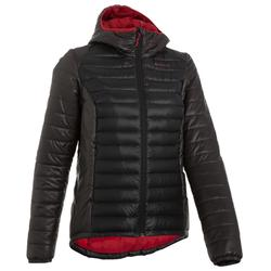 Daunenjacke Mountain-Trekking X-Light Damen schwarz