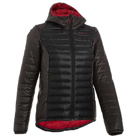 Women's Mountain Trekking Down Jacket X-Light - Black