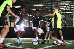 Voetbalschoenen Agility 500 HG, kinderen - 35116