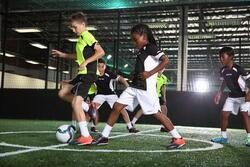Voetbalschoenen Agility 500 HG, kinderen - 35117