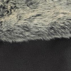 Fleece laarssokken met randje in imitatiebont voor volwassenen