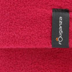 Fleece sokken voor ruiterlaarzen met randje in imitatiebont - 351224