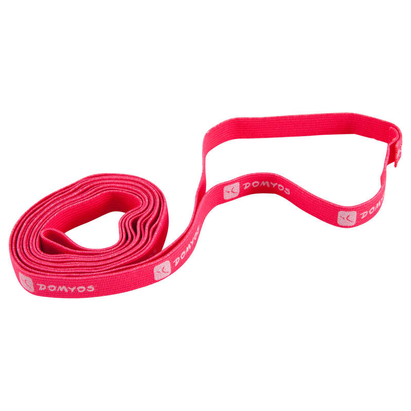 BABY GYM SMALL EQUIPMENT Outdoor Activities - Educational Gymnastics Band DOMYOS - Kids PINK