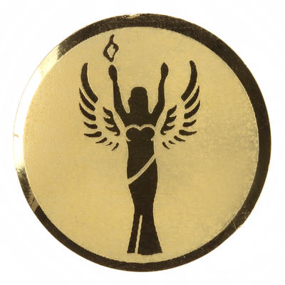 Victory Sticker - Gold