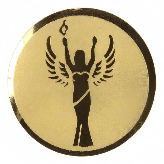 """Centro de medalha adesivo """"Vencedor"""" para prémios desportivos"""