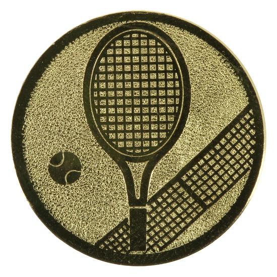 Plaatje tennis goud - 352569