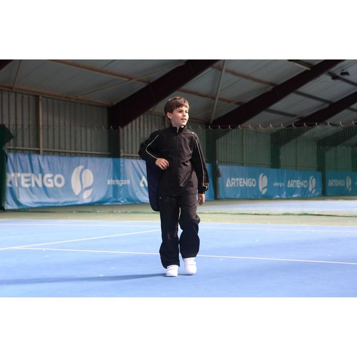 Lange broek Essential KD zwart 100 tennis/badminton/tafeltennis/padel/squash