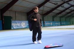 Trainingsbroek racketsporten Essential 100 kinderen zwart - 352665
