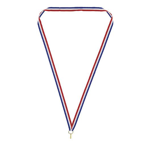 ruban tricolore avec  mousqueton  pour médaille