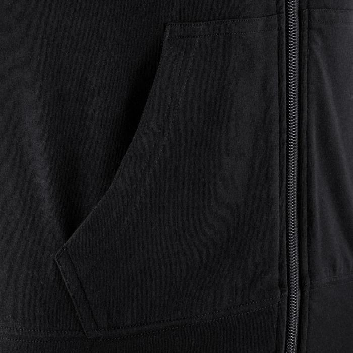 Veste capuche zippée Gym & Pilates femme - 353093
