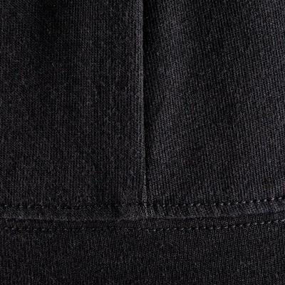 Veste capuche zippée Gym & Pilates femme noir