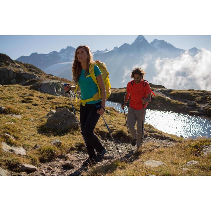 Chaussettes de randonnée montagne tiges high. 2 paires Forclaz 500 rose gris