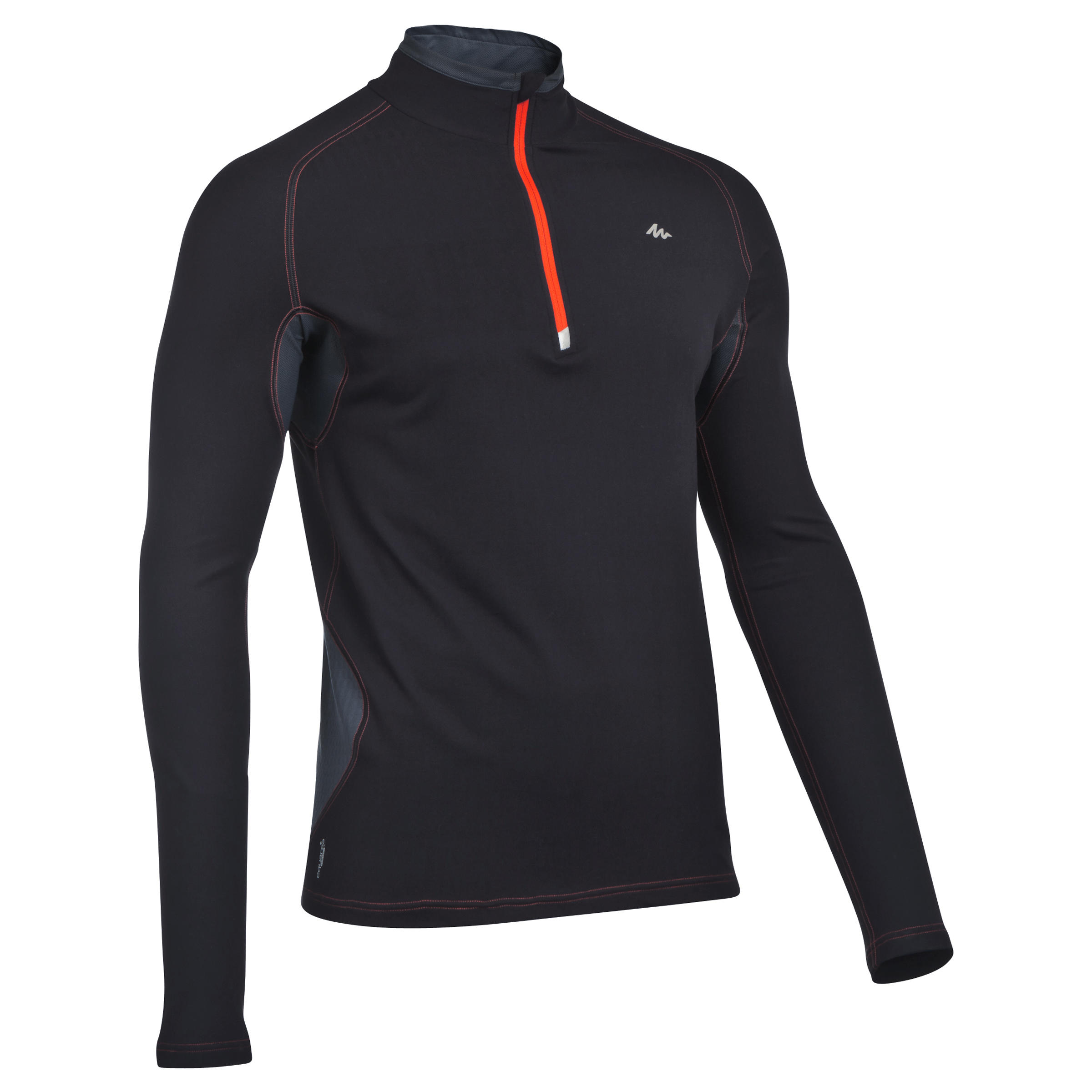 MH900 Long-sleeve Mountain Hiking T-Shirt - Black