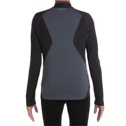 Tee Shirt de randonnée montagne MH900 manches longues homme Noir
