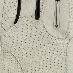 Guantes equitación mujer HEXAGIRLS beige