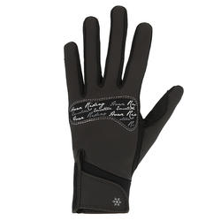 Kipwarm Adult Horseback Riding Gloves - Black