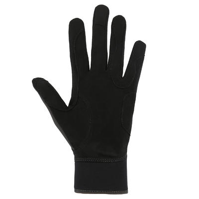 Рукавички Kipwarm для кінного спорту, для дорослих - Чорні