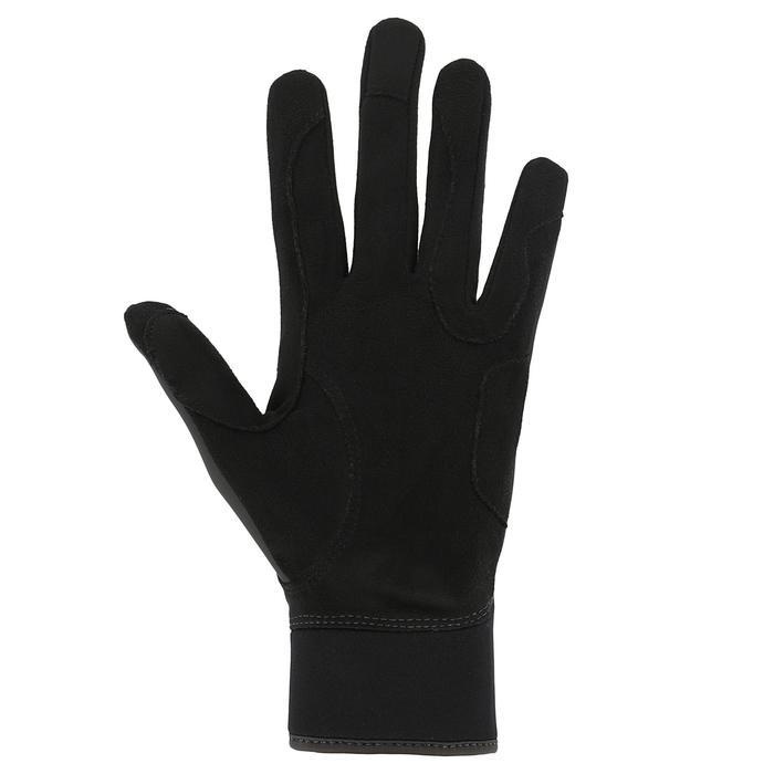 Kipwarm Adult Horse Riding Gloves - Black - 353845