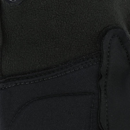 Kipwarm Women's Horse Riding Warm Gloves - Black
