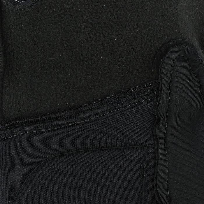 Winter-Reithandschuhe Kipwarm Damen schwarz