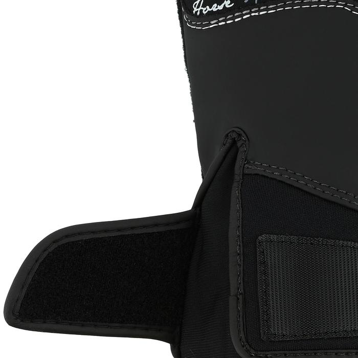Kipwarm Adult Horse Riding Gloves - Black - 353849