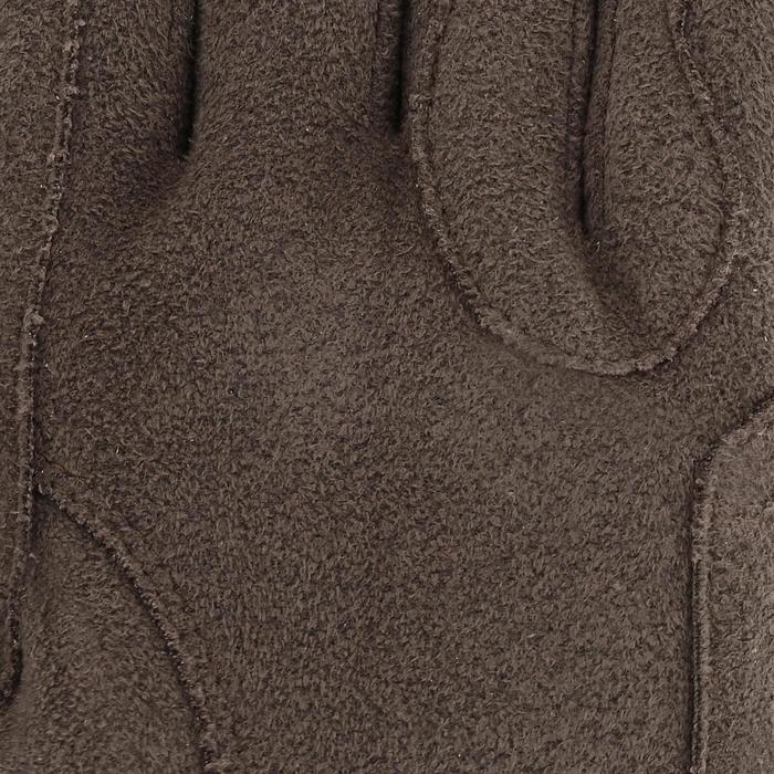 Rijhandschoenen Kipwarm volwassenen beige