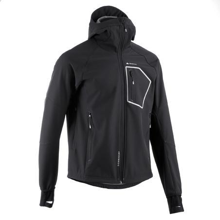 Forclaz 500 Warm Men's Hiking Softshell Jacket - Black